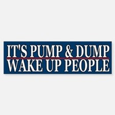 It's Pump & Dump - Wake Up People