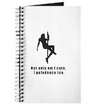 Pole Dancer Cute Journal