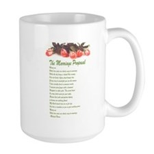 The Marriage Proposal shift of roses Mug