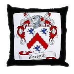 Forsyth Family Crest Throw Pillow