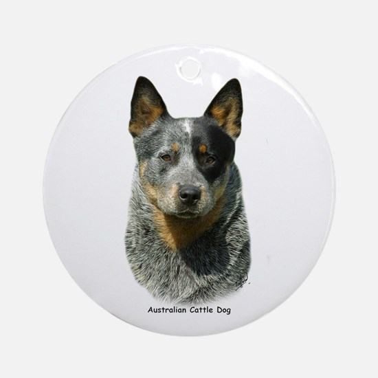 Australian Cattle Dog 9F061D-04 Ornament (Round)