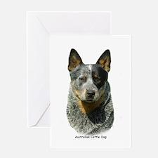 Australian Cattle Dog 9F061D-04 Greeting Card