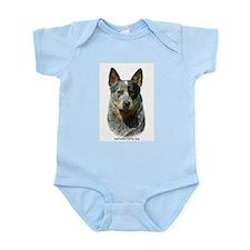 Australian Cattle Dog 9F061D-04 Infant Bodysuit