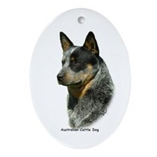 Australian Cattle Dog 9F061D-06 Ornament (Oval)