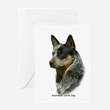 Australian Cattle Dog 9F061D-06 Greeting Card