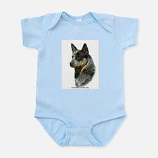 Australian Cattle Dog 9F061D-06 Infant Bodysuit