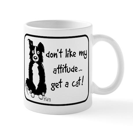 Border Collie Attitude Mug