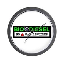 BIODIESEL Wall Clock