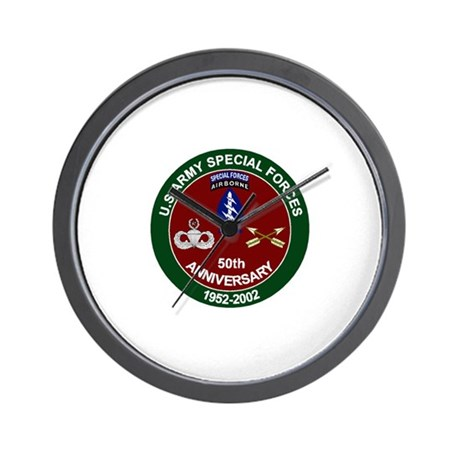 SpecFor 50th Wall Clock