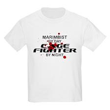 Marimbist Cage Fighter by Night T-Shirt