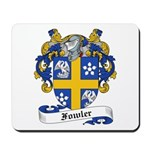 Fowler Family Crest Mousepad