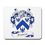 Frances Family Crest Mousepad