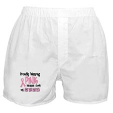 Proudly Wearing Pink 2 (Aunt) Boxer Shorts