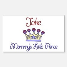 Jake - Mommy's Prince Rectangle Decal