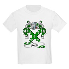 Frank Family Crest Kids T-Shirt