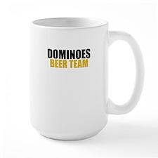 Dominoes Beer Team Mug