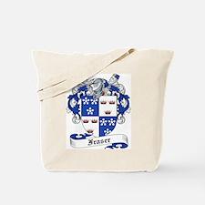 Fraser Family Crest Tote Bag