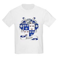 Fraser Family Crest Kids T-Shirt