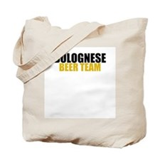 Bolognese Beer Team Tote Bag