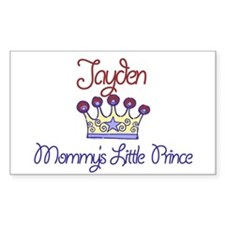 Jayden - Mommy's Prince Rectangle Decal