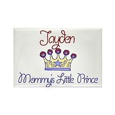 Jayden - Mommy's Prince Rectangle Magnet