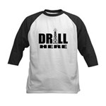Drill Here Drill Now Kids Baseball Jersey