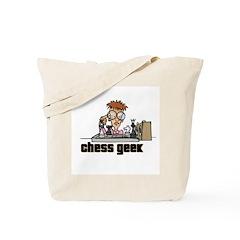 Chess Geek Tote Bag