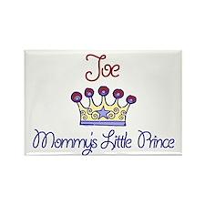 Joe - Mommy's Prince Rectangle Magnet