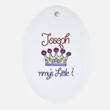 Joseph - Mommy's Prince Oval Ornament