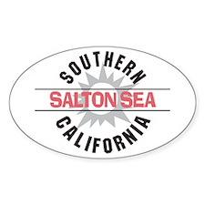 Salton Sea CA Oval Decal