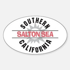 Salton Sea CA Oval Decal