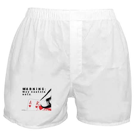 Warning: May contain nuts. Boxer Shorts