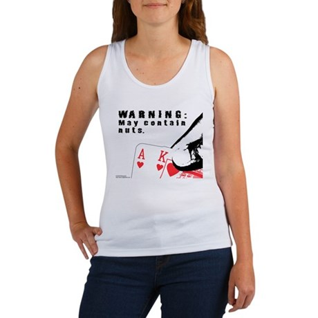 Warning: May contain nuts. Women's Tank Top
