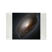 M64 - The Black Eye Galaxy Rectangle Magnet