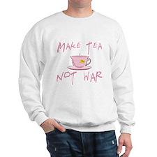 Make Tea not War Sweatshirt