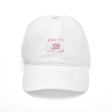 Make Tea not War Baseball Cap