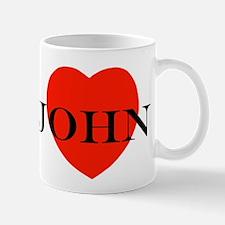 I Love John! Mug