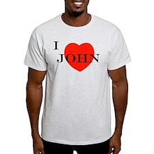 I Love John! T-Shirt