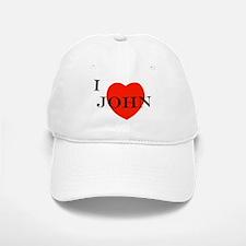 I Love John! Baseball Baseball Cap