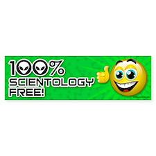Scientology-Free! Bumper Bumper Sticker