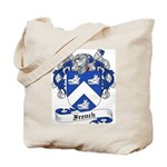 French Family Crest Tote Bag