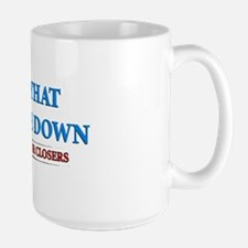 Coffee Is For Closers Large Mug
