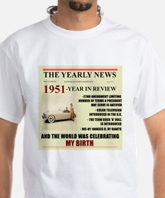 born in 1951 birthday gift Shirt