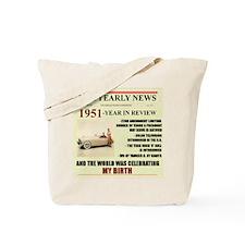 born in 1951 birthday gift Tote Bag