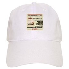 born in 1951 birthday gift Baseball Cap