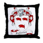 Fullerton Family Crest Throw Pillow