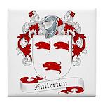 Fullerton Family Crest Tile Coaster
