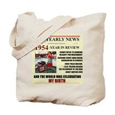 born in 1954 birthday gift Tote Bag