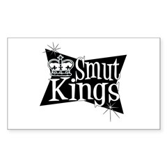 Smut Kings Vintage Logo Rectangle Decal