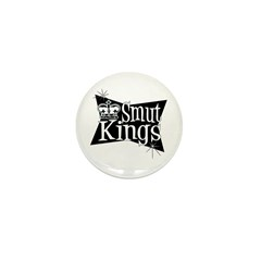 Smut Kings Vintage Logo Mini Button (10 pack)
